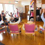おうみの里 ほたる小規模多機能型居宅介護事業リフレッシュ体操所